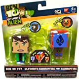 Ben 10: Ben To Amphibian And Swampfire To Ultimate Swampfire AlterAlien Figures