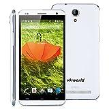 "VKworld VK700PRO - 5.5"" Smartphone Libre Android 8G (Fhd 1280x720P, Quad Core, 1G Ram, Dual Sim, 8Mp, HotKnot Otg Air Gesture Smart Wake Multi-Idioma), Blanco"