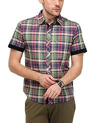 Yepme Men's Checks Cotton Shirt - YPMSHRT0424
