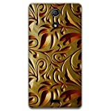 The Racoon Gold Weave Printed Designer Hard Plastic Back Case For Sony Xperia ZR