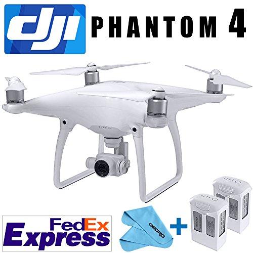 DJI PHANTOM 4 PRO GPS QUADCOPTER PHANTOM4 DRONE GIMBAL 4K/12MP HD CAMERA NEW+ EXTRA BATTERY Fedex EXPRESS+4 Prop Guards
