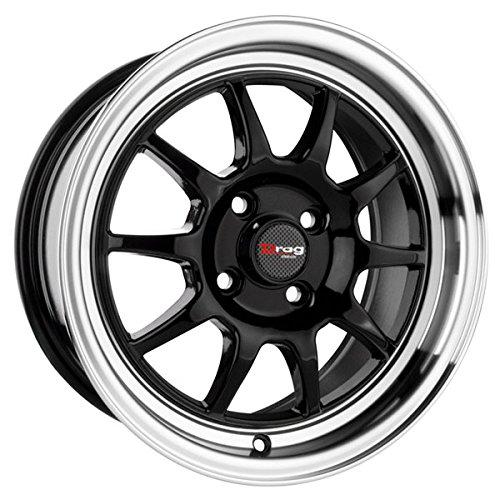 Drag Wheels DR-16 16×7/ 4×100 Gloss Black rims