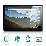 NeuTab 7'' Quad Core Android 5.1 Lollipop 1GB RAM 8GB Nand Flash Tablet PC, Wide View IPS Display 1024x600 Bluetooth Dual Camera, 1 year warranty FCC Certified (Black)