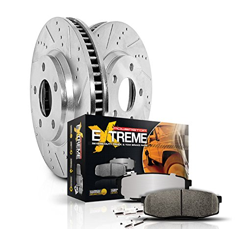 Power Stop (K3118-36) Z36 Extreme Severe-Duty Truck & Tow Brake Kit, Front