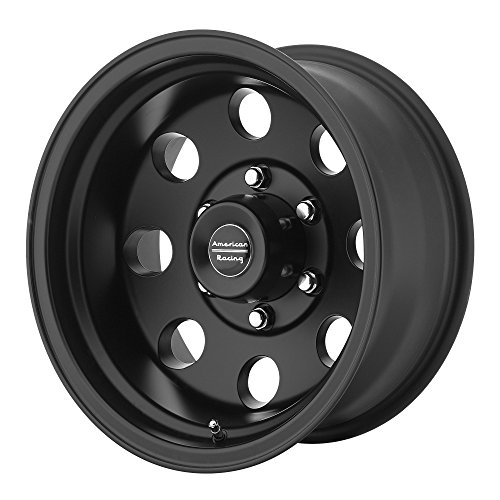American Racing Custom Wheels AR172 Baja Satin Black Wheel (16×8″/5×114.3mm, 0mm offset)