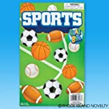 6 Sports Toy Bag Assortment ~ Assorted All Sports Favor Bag ~ Great For Sports Themed Birthdays ~ Pr