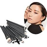20Pcs Professional Black Makeup Cosmetic Brushes Set Kit