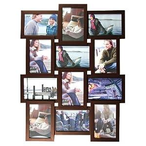 Amazon.com - nexxt Array Collage Wall Frame, Holds Twelve