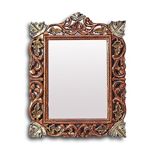 Aarsun Woods Duffie Brown Mirror Frame