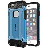 Cubix Impact Hybrid Armor Defender Case For Apple IPhone 6 Plus (Blue)