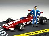 BRUMM / Blum Ferrari 312B Lupin III ' WANTED ' starting line Lupin with figures
