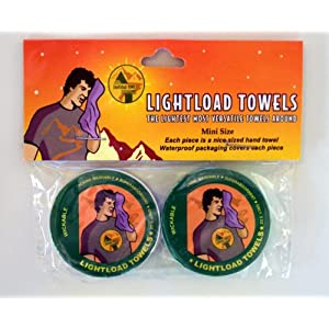 Lightload Towels the Only Towels That Are Survival Tools 2 Packs(12x12