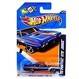 2012 Hot Wheels Muscle Mania - GM '70 Pontiac GTO Judge Blue #104/247