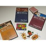 Amazing Easy To Learn Magic Tricks: Coin Magic Dvd, Rope Magic Dvd, Pro Brand Bridge Size Svengali Deck With Dvd...