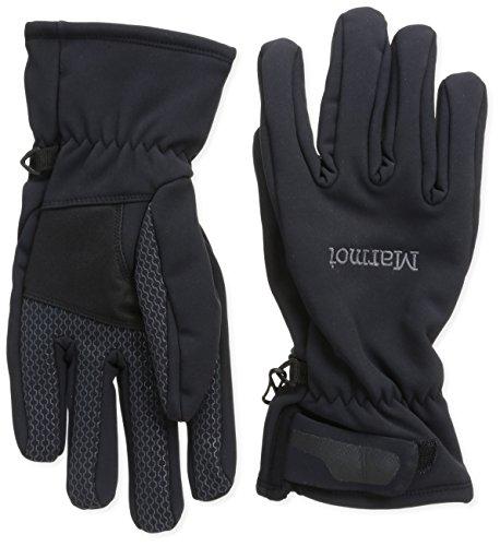 Marmot Men's Glide Softshell Glove, Black, X-Large