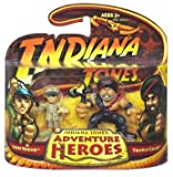 SHORT ROUND and TEMPLE GUARD * Indiana Jones Adventure Heroes * Indiana Jones and the Temple of Doom 2 Pack