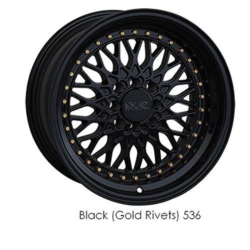 XXR 536 18 Flat Black Wheel / Rim 5×100 & 5×4.5 with a 18mm Offset and a 73.1 Hub Bore. Partnumber 536895420
