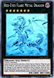 Yu-Gi-Oh! - Red-Eyes Flare Metal Dragon (CORE-EN054) - Clash of Rebellions - 1st Edition - Ghost Rare