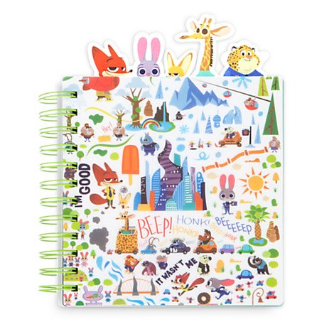 Zootopia Journal for Kids