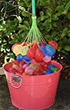 Crazy Balloons(TM) - Fills and Ties 148 Water Balloons in a Minute - Fills Bigger and Pops Better Than Any Other Brand - Hose Attachment Filler - Includes 148 Self Sealing Balloons - Make a Bunch of Water Bombs Fast - Bonus Water Fight Games Booklet