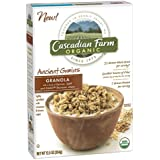 Cascadian Farm Organic Granola Cereal Ancient Grains, 12.5 Ounce (Pack Of 10)