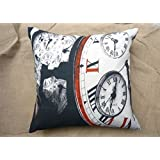 Which Kraft Cotton Canvas Bnw05 Cushion Cover- Multi Color, 40.64 Cm X 40.64 Cm