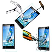 Acm Tempered Glass Screenguard For Xolo Q1100 Mobile Screen Guard Scratch Protector