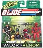 Gung Ho vs. Wild Weasel GI Joe Venom vs. Valor Action Figures