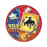 Wild Wild West Dessert Plates