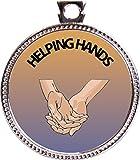 Keepsake Awards Helping Hands Silver Award Disk