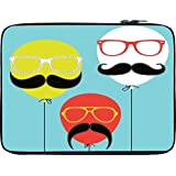 Snoogg Movember Balloon 12 To 12.6 Inch Laptop Netbook Notebook Slipcase Sleeve