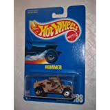 #188 Hummer CT Wheels Tan With Tampos On Side And Roof Collectible Collector Car Mattel Hot Wheels 1