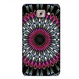 PrintVisa Designer Back Case Cover For Samsung Galaxy On Max (Bling Pink Blue Design Simple )