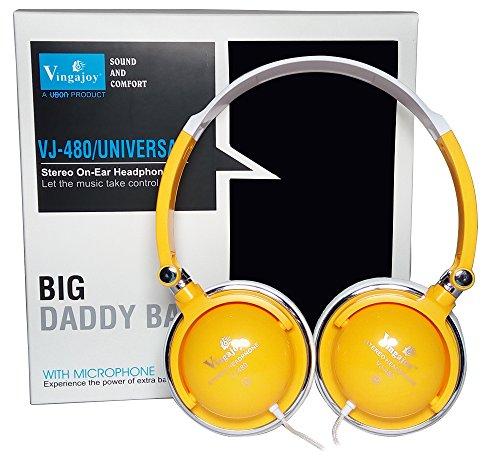 Super Bass Stereo Headphone HP-1230 Professional Hi-Fi Stereo