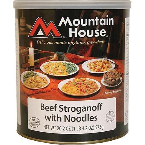 Mountain House canned food - 25 year long shelf life