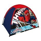 Spiderman Kids 2 Pole Dome Tent With Zip T Doors, 4x3-Feet/36-Inch
