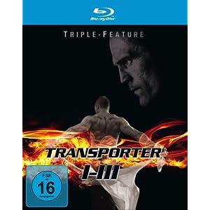 [Blu-ray] Transporter 1-3 – Triple-Feature für nur 29,98 € (inkl. Versand)