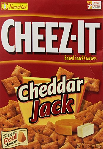 Cheez-it Cheddar Jack Crackers, 12.4 Ounce