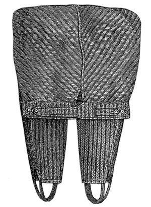Men's Vintage Reproduction Sewing Patterns 1887 Mens Drawers $6.50 AT vintagedancer.com