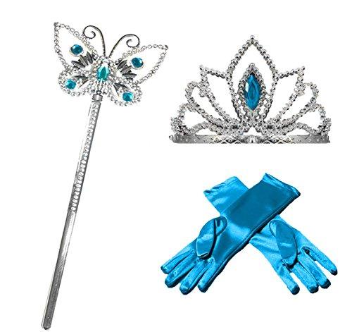 Princess Dress up Party Accessories - 3 Piece