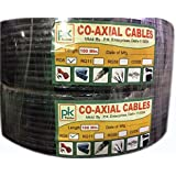 PK RG-6 CO-Axial Cable (100 Meter) Pack Of 2
