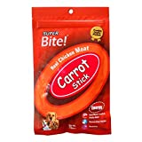 Super Bite Real Chicken Meat Sticks Carrot (Pack Of 2)