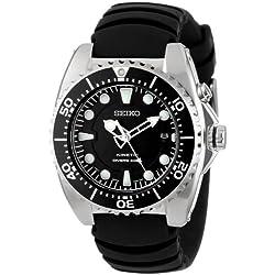 "Seiko Men's SKA413 ""Adventure"" Stainless Steel Kinetic Diver Watch"