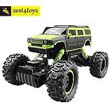 Zest 4 Toyz 1:14 Scale 2.4 Ghz 4 Wheel Drive Rock Crawler Rally Jeep . The Mean Machine