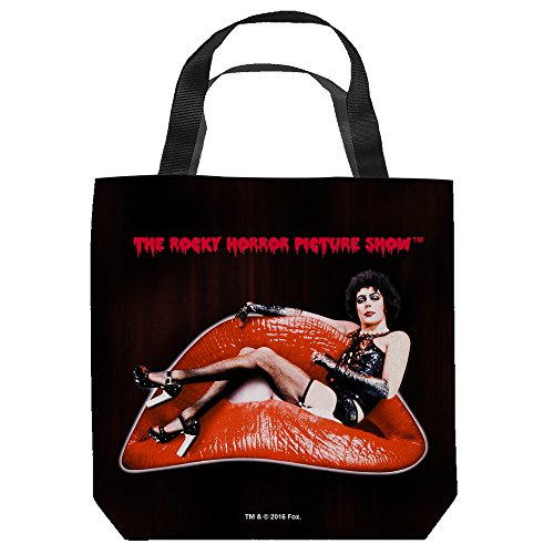 Rocky Horror Picture Show Frank Lips Tote Bag