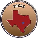 Keepsake Awards Texas Silver Award Pin
