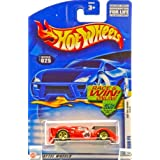 Hot Wheels 2002 First Editions Red Ferrari P4 #025 Race/Win Card 1:64 Scale