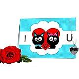 Greeting Card For Valentine Day Gift Valentine Gifts For Wife Valentine Gift For Husband Valentine Gift For Girlfriend... - B01BAMM3LU