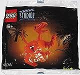 2001 Lego Studios #4078 T-Rex Jurassic Park III PROMO