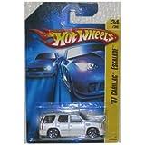 CADILLAC ESCALADE Hot Wheels 2006 First Editions #34 07 Cadillac Escalade White Y5 Wheels #2006-34 1:64 Scale...